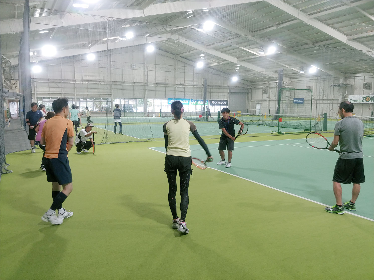 クラスのご案内 | Golf Tennis ZONE  Hesaka
